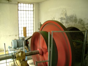 Renovierung des Wasserkraftwerks