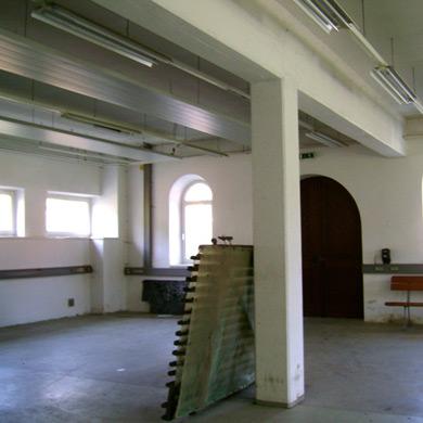 Zeilinger Himmelberg Privatstiftung: Das Werk, die Werkshalle